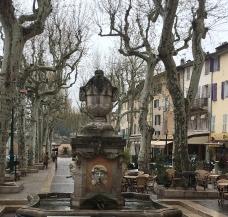 Fountain Cotignace centre