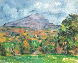 Cezanne's version of Saint Victoire