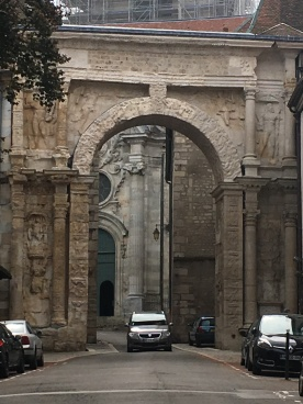 Original Roman arch