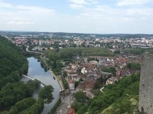 Citadel view of River Doube