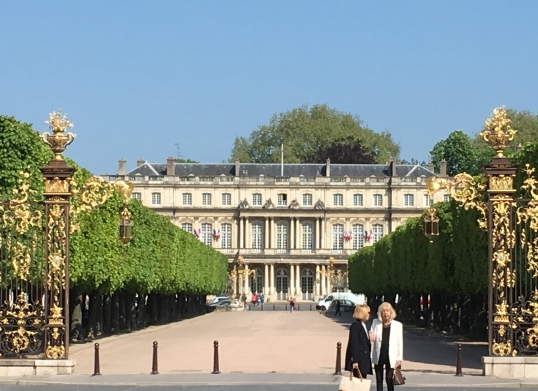 the 18th century facade of the Ducal Palace