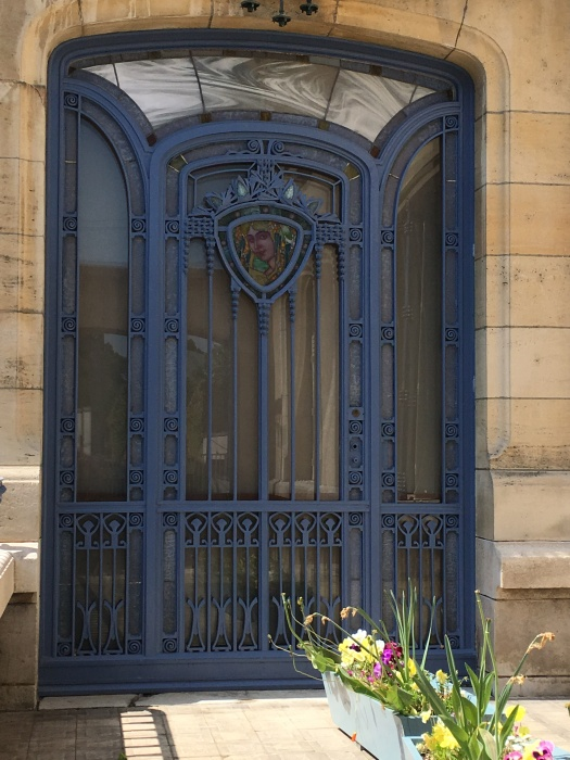 Window in the the Nouveau style