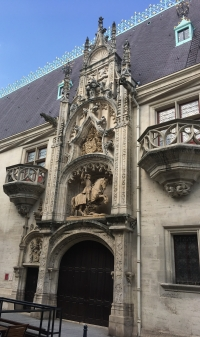 Main medieval entrance
