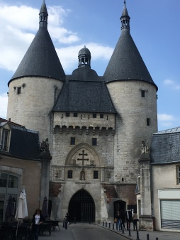 The 14th-century Porte de la Craffe