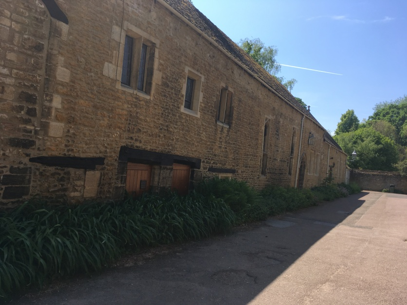 Intact Abbey buildings not destroyed by Henry VIII