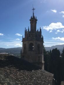 Minaret/spire of Iglesia Santa María Mayor, Ronda