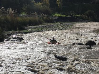 White water canoeing, Órgiva
