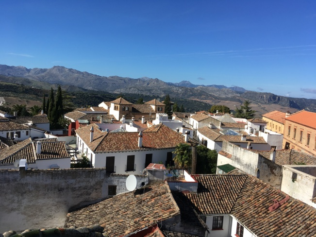 Rooftop view from Iglesia Santa María Mayor, Ronda