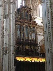 Cathedral organ, Córdoba