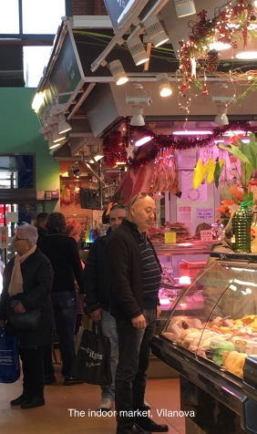 Indoor market, Vilanova i la Geltrú