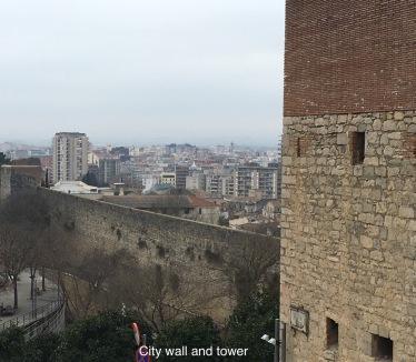City wall, Girona