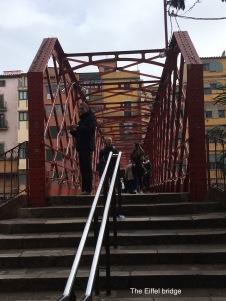 The Eiffel bridge, Girona