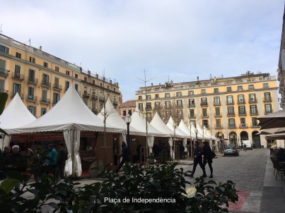 Plaça de Indepedència, Girona