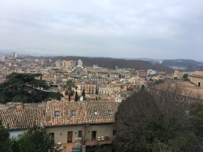 View from City wall, Girona