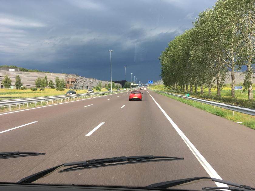 Brabant, heading north