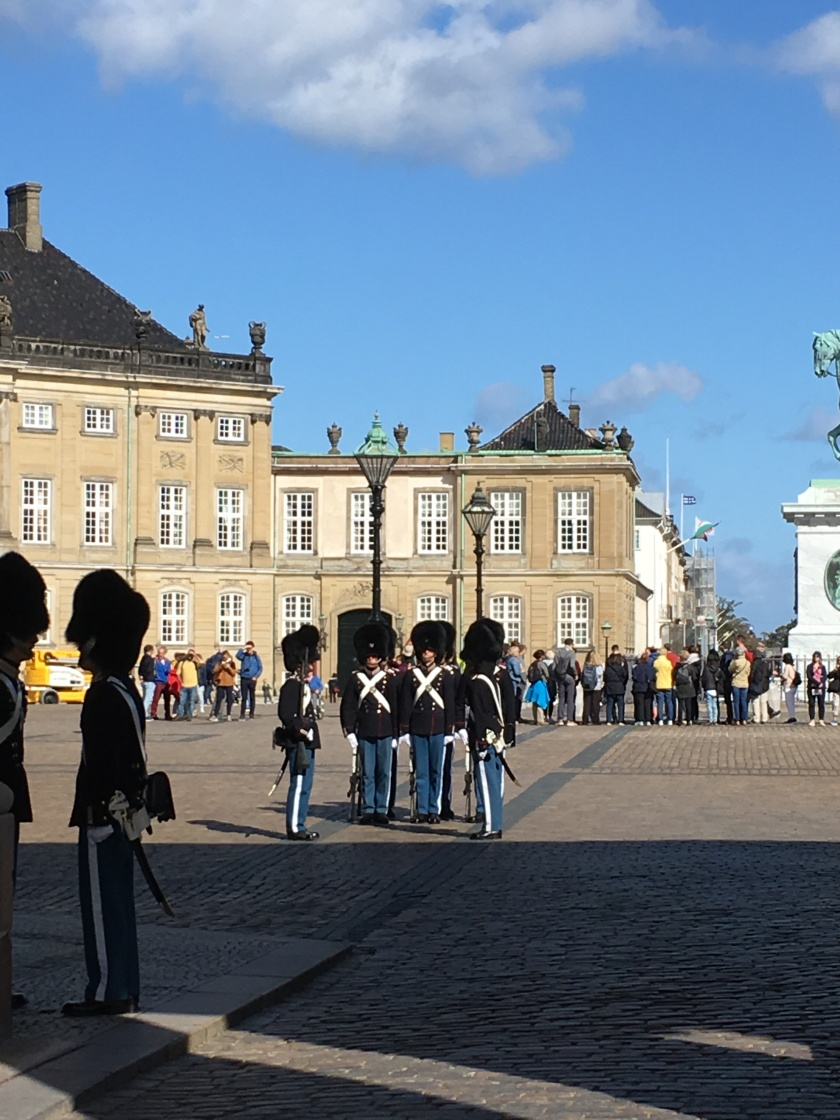 Changing of the Guard, Copenhagen