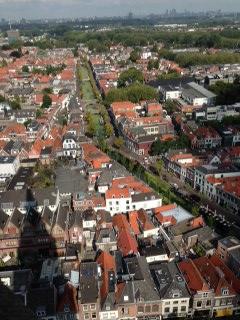 View, New Church, Delft