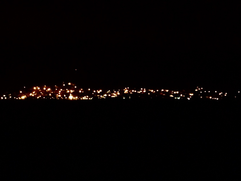 Lights of Portugal from Santa Tecla campsite